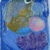 oil pastel on paper 32x24 cm